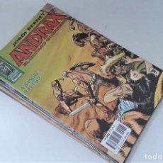 Cómics: ANDRAX: COLECCIÓN COMPLETA A FALTA DEL Nº 1 - FORUM - EXCELENTE ESTADO. Lote 269346028