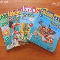 Cómics: TOTEM EXTRA - LOS MEJORES CUENTOS DE EDIKA COMPLETA - Nº 1, 2, 3 Y 4 (F1). Lote 269389233