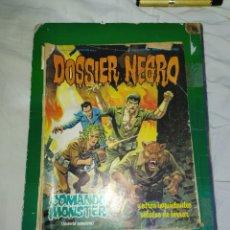 Cómics: DOSSIER NEGRO- N°187--EN REGULAR ESTADO DE CONSERVACIÓN--. Lote 269445613