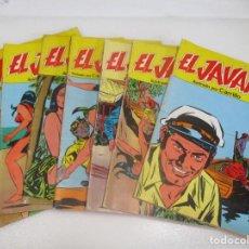 Cómics: EL JAVANÉS (7 TOMOS DIFERENTES) W7539. Lote 269447288