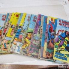Cómics: PUBLICACIÓN JUVENIL EL GUERRERO DEL ANTIFAZ ( 39 NÚMEROS DIFERENTES) W7540. Lote 269449198