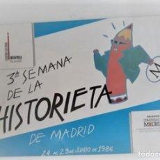 Cómics: 3ª SEMANA DE LA HISTORIETA DE MADRID - PROGRAMA - (CON DEDICATORIA DE YVES CHALAND). Lote 269450848