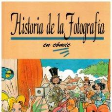 Cómics: HISTORIA DE LA FOTOGRAFÍA EN CÓMIC. FOTO SISTEMA 1994. NUEVO.. Lote 269453353