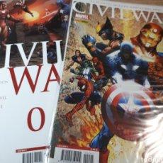 Cómics: CIVIL WAR N.0 Y 1. Lote 269458658