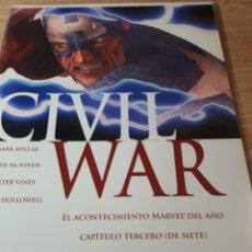 Cómics: CIVIL WAR 3. Lote 269459078
