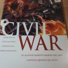 Cómics: CIVIL WAR 5. Lote 269459843