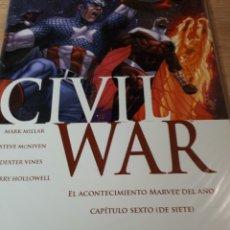 Cómics: CIVIL WAR 6. Lote 269460023