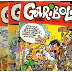 Cómics: GARIBOLO -REVISTA SEMANAL- PEQUEÑO LOTE DE 6 NÚMEROS 1,2,3,4,12 Y 13.CÍA GRAL DE EDICIONES 1986.. Lote 269461863
