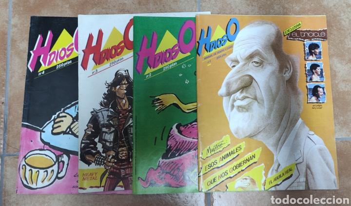 LOTE HDIOSO 4 NÚMEROS (Tebeos y Comics - Comics Pequeños Lotes de Conjunto)