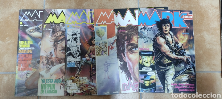 LOTE MARK 2000 6 NÚMEROS (Tebeos y Comics - Comics Pequeños Lotes de Conjunto)