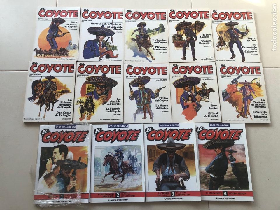 COMICS EL COYOTE (Tebeos y Comics - Comics Pequeños Lotes de Conjunto)
