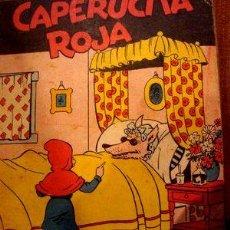 Cómics: LIBRO CAPERUCITA ROJA EDITORIAL TOR MARINO. Lote 269511923