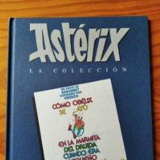 Cómics: ASTERIX, COMO OBELIX SE CAYO EN LA MARMITA DEL DRUIDA CUANDO ERA PEQUEÑO - SALVAT LA COLECCION. Lote 269605173