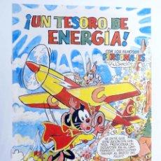 Cómics: PUMBY. ¡UN TESORO DE ENERGÍA! (J. SANCHIS) GENERALITAT VALENCIANA, 1997. OFRT. Lote 269768003