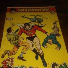 Cómics: SUPER HOMBRE NUMERO 1 EL HOMBRE DEL SOL. Lote 269845793
