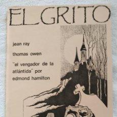 Cómics: EL GRITO. FANZINE CÓMIC. Nº 1. HORROR Y AVENTURAS. 1986. EXCELENTE. Lote 269848358