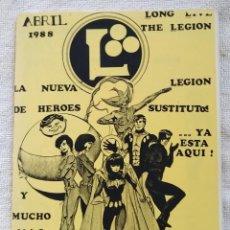 Cómics: LEGIÓN. FANZINE CÓMIC. Nº 1. AÑOS 80. EXCELENTE. Lote 269848883