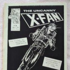 Cómics: THE UNCANNY X-FAN. FANZINE CÓMIC. Nº 3. ABRIL 1987.. Lote 269850008