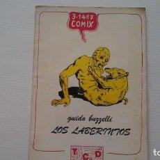 Cómics: LOS LABERINTOS. GUIDO BUZZELLI. 3-14-17 COMIX. 1977. Lote 269936483
