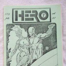 Cómics: HERO. FANZINE CÓMIC. Nº 7. SEPTIEMBRE 1987.. Lote 269939873