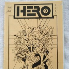Cómics: HERO. FANZINE CÓMIC. Nº 9. SEPTIEMBRE 1987.. Lote 269940148