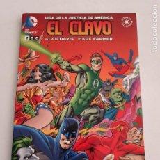 Cómics: EL CLAVO LIGA DE LA JUSTICIA DE AMERICA ALAN DAVIS COMICS ECC ESTADO IMPECABLE MAS ARTÍCULOS. Lote 269992568