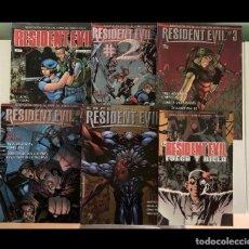 Cómics: CÓMICS OFICIALES RESIDENT EVIL. COLECCIÓN COMPLETA. Lote 269996523