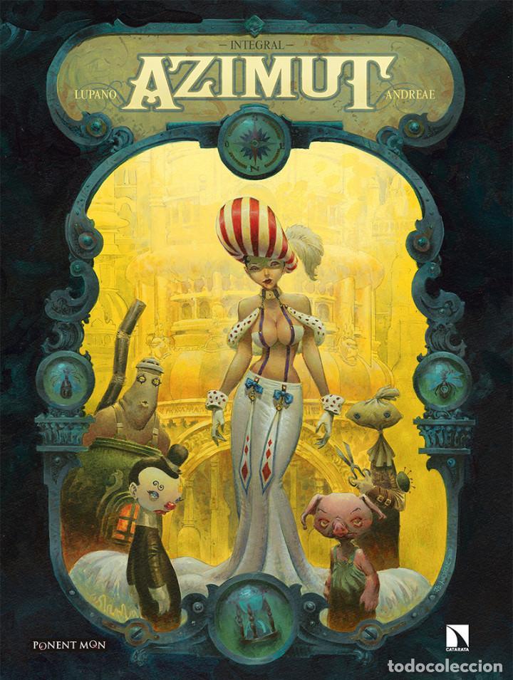 CÓMICS. AZIMUT - ANDREAE/LUPANO (CARTONÉ) (Tebeos y Comics - Comics otras Editoriales Actuales)