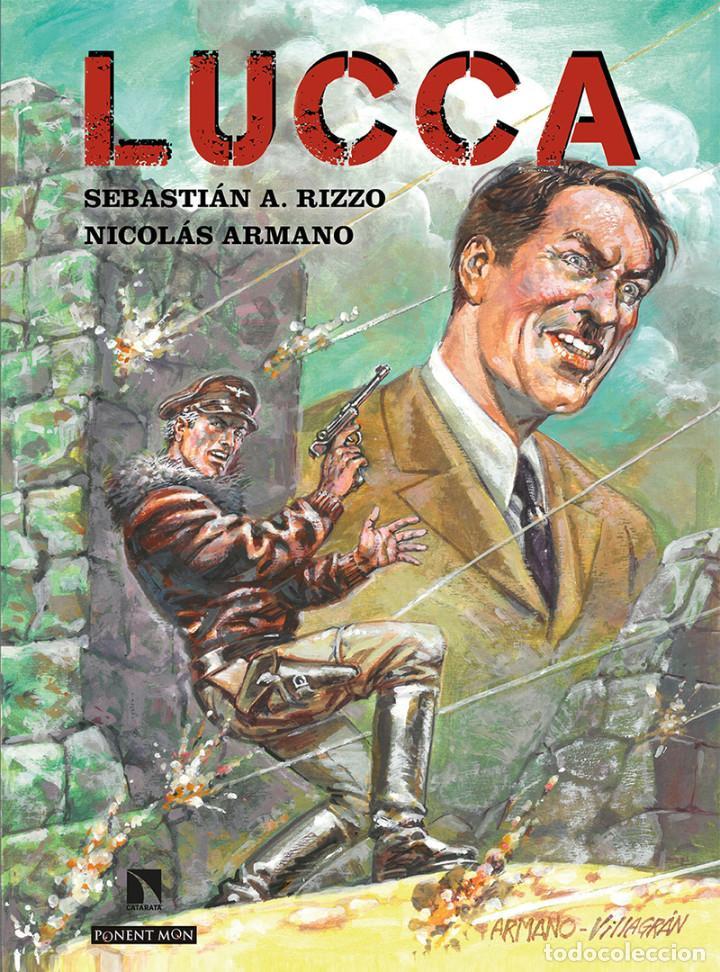 CÓMICS. LUCCA - SEBASTIÁN A. RIZZO/NICOLÁS ARMANO (CARTONÉ) (Tebeos y Comics - Comics otras Editoriales Actuales)