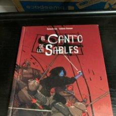 Cómics: EL CANTO DE LOS SABLES, DE ANTOINE OZANAM Y TENTACLE EYE. Lote 270147878