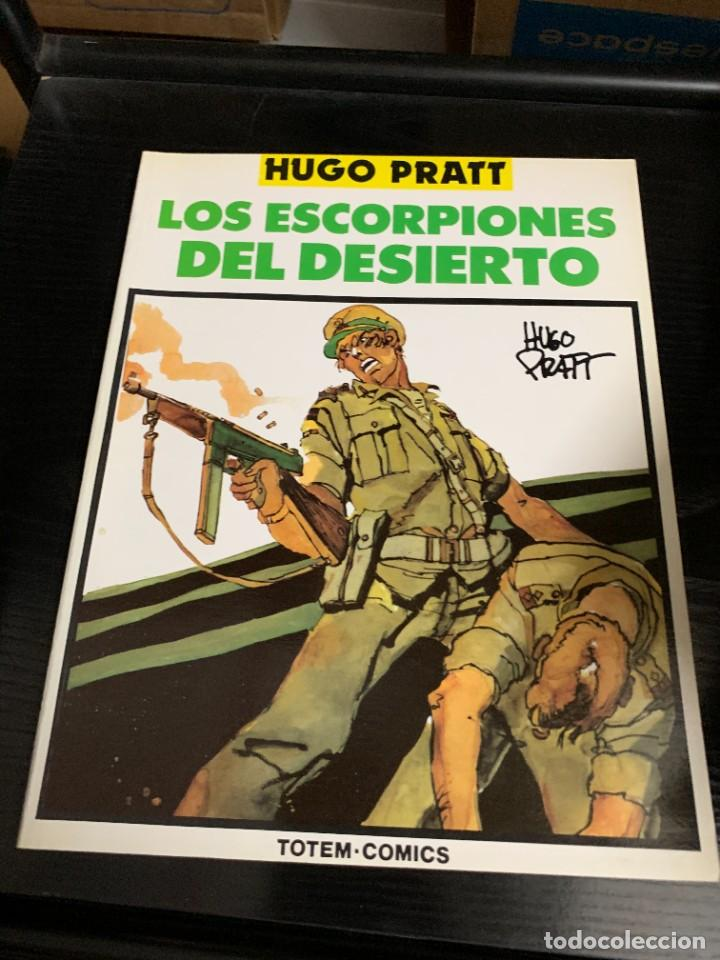 LOS ESCORPIONES DEL DESIERTO, DE HUGO PRATT. COLECCIÓN COMPLETA DE 4 TOMOS (Tebeos y Comics - Comics otras Editoriales Actuales)
