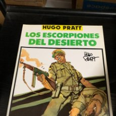 Cómics: LOS ESCORPIONES DEL DESIERTO, DE HUGO PRATT. COLECCIÓN COMPLETA DE 4 TOMOS. Lote 270158773