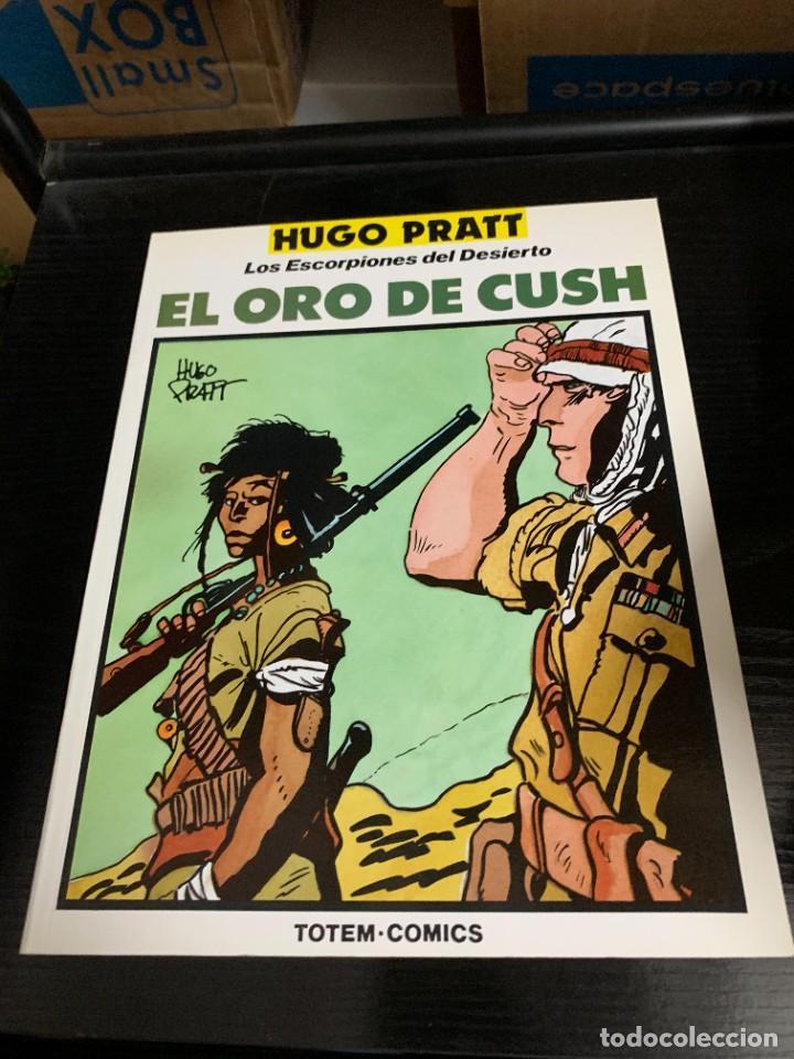 Cómics: Los escorpiones del desierto, de Hugo Pratt. Colección Completa de 4 tomos - Foto 3 - 270158773