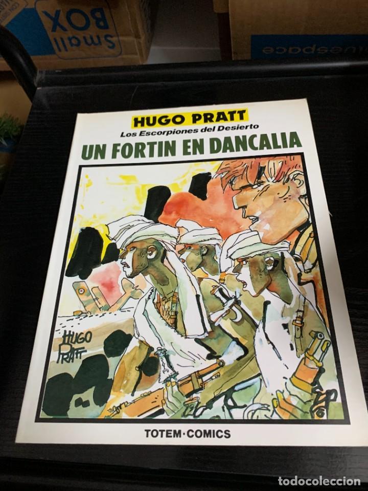 Cómics: Los escorpiones del desierto, de Hugo Pratt. Colección Completa de 4 tomos - Foto 5 - 270158773