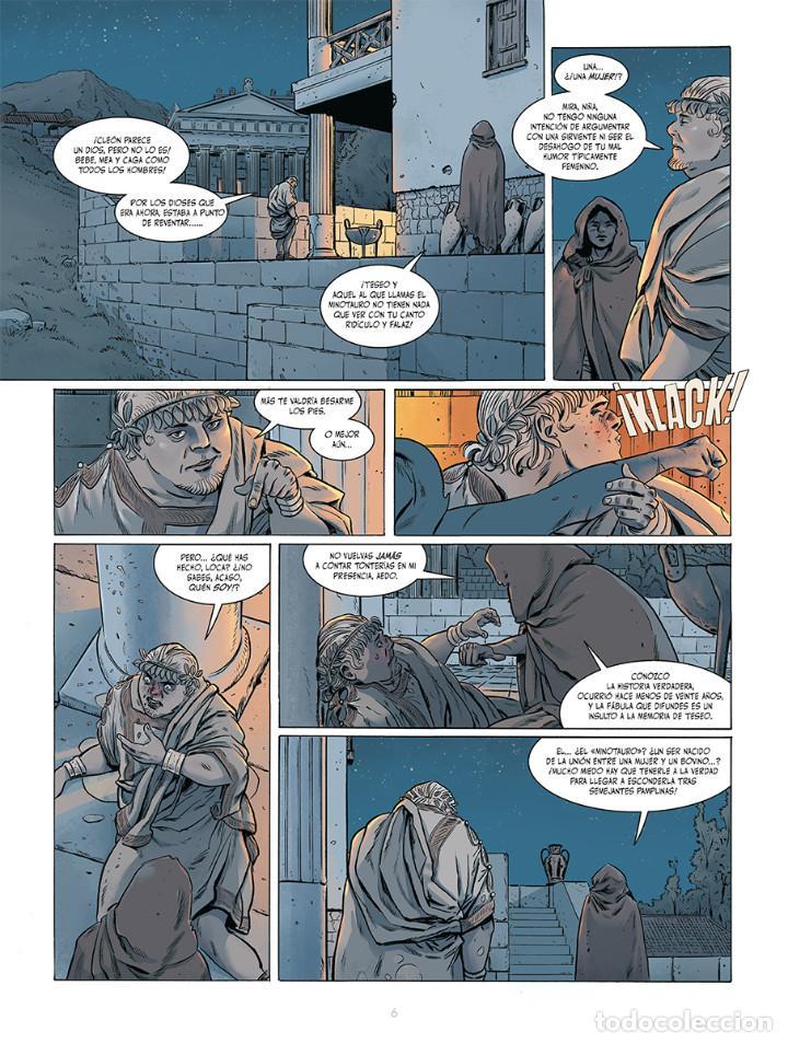 Cómics: Cómics. El fuego de Teseo Integral - Jerry Frissen/Francesco Triflogi (Cartoné) - Foto 3 - 270183693