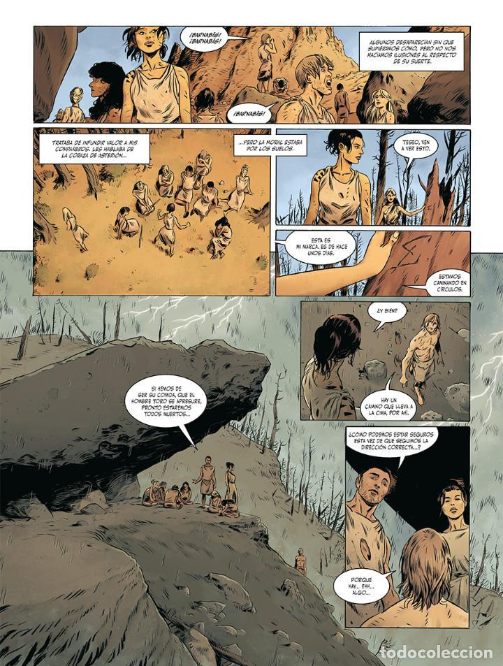 Cómics: Cómics. El fuego de Teseo Integral - Jerry Frissen/Francesco Triflogi (Cartoné) - Foto 6 - 270183693