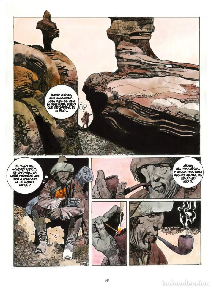 Cómics: Cómics. Americania. Historias de la frontera - Sergio Toppi (Cartoné) - Foto 6 - 270184073
