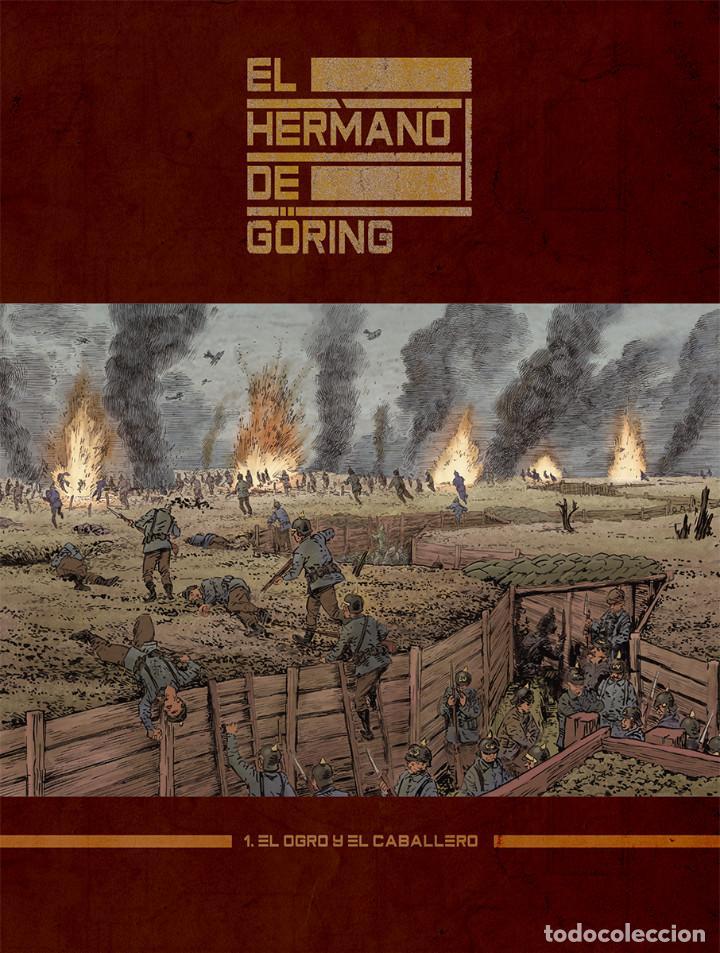 Cómics: Cómics. El hermano de Göring Integral - Arnaud Le Gouëfflec/Steven Lejeune (Cartoné) - Foto 2 - 270184833