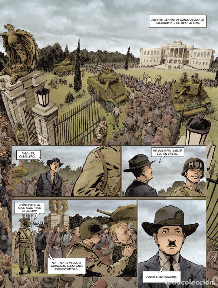 Cómics: Cómics. El hermano de Göring Integral - Arnaud Le Gouëfflec/Steven Lejeune (Cartoné) - Foto 3 - 270184833