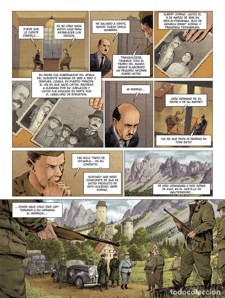 Cómics: Cómics. El hermano de Göring Integral - Arnaud Le Gouëfflec/Steven Lejeune (Cartoné) - Foto 4 - 270184833