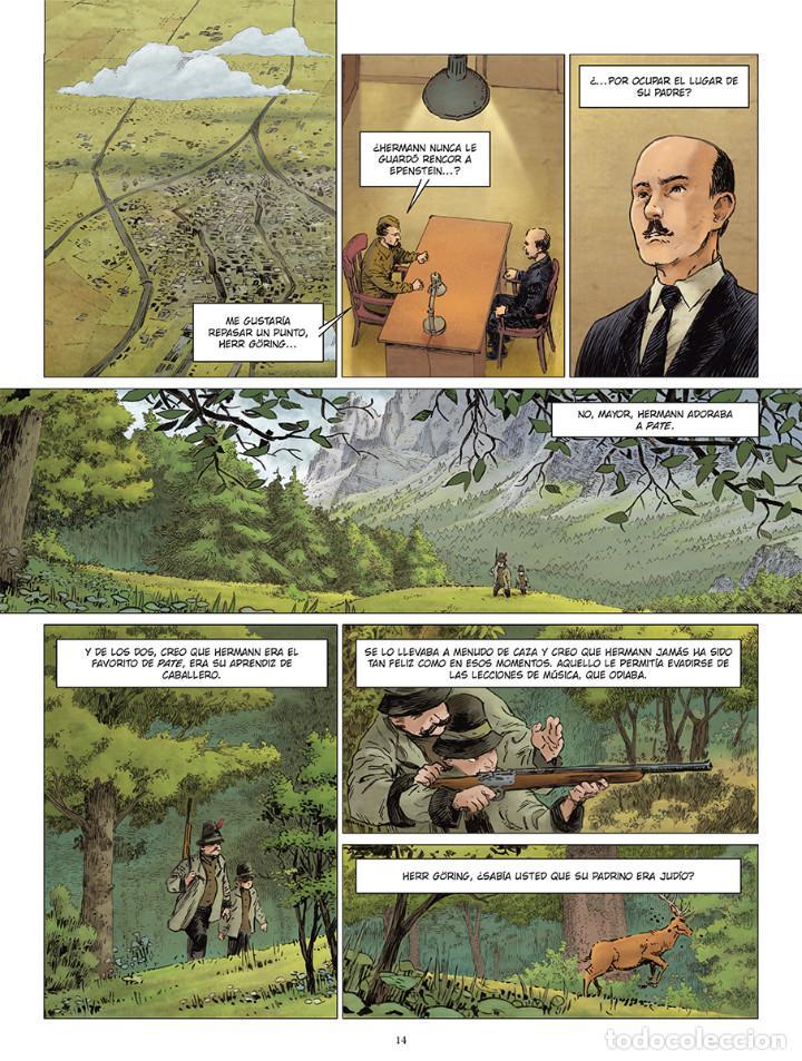 Cómics: Cómics. El hermano de Göring Integral - Arnaud Le Gouëfflec/Steven Lejeune (Cartoné) - Foto 5 - 270184833