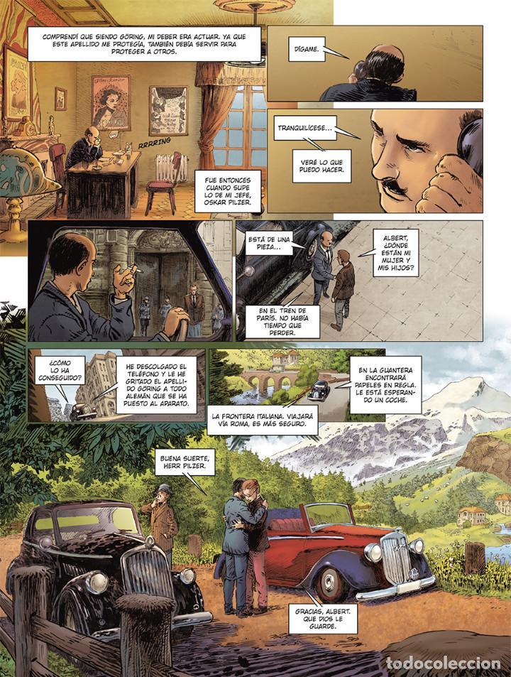 Cómics: Cómics. El hermano de Göring Integral - Arnaud Le Gouëfflec/Steven Lejeune (Cartoné) - Foto 7 - 270184833