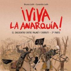 Cómics: CÓMICS. VIVA LA ANARQUÍA 2 - BRUNO LOTH/CORENTIN LOTH (CARTONÉ). Lote 270185248