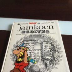 Cómics: ASTERIX - JAINKOEN EGOITZA EDITORIAL ELKAR 1981 TAPA DURA ASTERIX EN EUSKERA. Lote 270201393