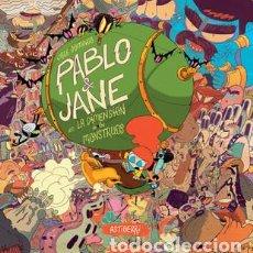 Cómics: CÓMICS. PABLO & JANE EN LA DIMENSIÓN DE LOS MONSTRUOS - JOSÉ DOMINGO (CARTONÉ). Lote 270359303