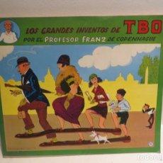 Cómics: LOS GRANDES INVENTOS DE TBO POR EL PROFESOR FRANZ DE COPENHAGUE - EDICIONES DEL COTAL, 1977. Lote 270401933