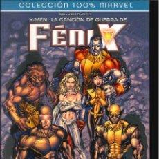 Cómics: X-MEN LA CANCIÓN DE GUERRA DE FÉNIX PANINI CÓMICS MARVEL. Lote 270559883