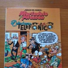 Cómics: MORTADELO Y FILEMON - EL PINCHAZO TELEFONICO - MAGOS DEL HUMOR - TAPA DURA (S). Lote 270560408