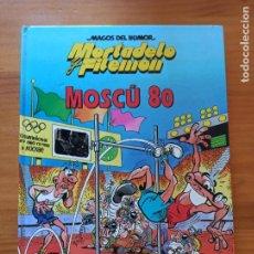 Cómics: MORTADELO Y FILEMON - MOSCU 80 - MAGOS DEL HUMOR - TAPA DURA (S). Lote 270560658