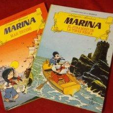 Cómics: LES AVENTURES DE LA MARINA COLECCION COMPLETA 2 COMICS -CORTEGGIANI & FRANCHAND - ED. TORAY. Lote 270574643